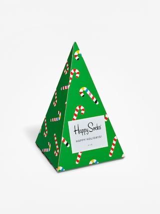 Ponou017eky Happy Socks X Mass Giftbox 3pk (green/red)