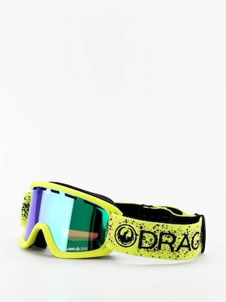Brýle na snowboard Dragon Lil D (slime/lumalens green ion)