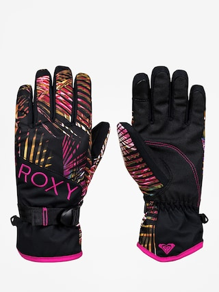Rukavice Roxy Jetty Gloves Wmn (night palm)