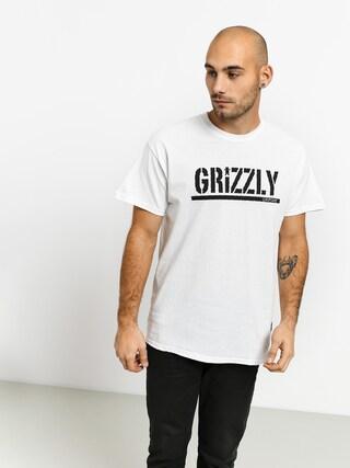 Triu010dko Grizzly Griptape Stamp (white/black)