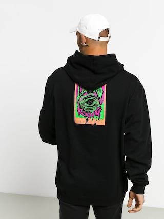 Mikina s kapucí Grizzly Griptape Scales HD (black)