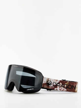 Brýle na snowboard Dragon PXV (succulents/lumalens dark smoke/lumalens rose)