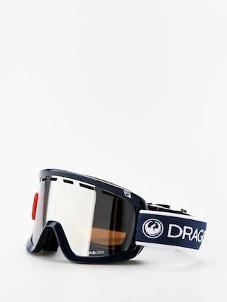 Bru00fdle na snowboard Dragon D1OTG (designer/lumalens silver ion/lumalens flash blue)