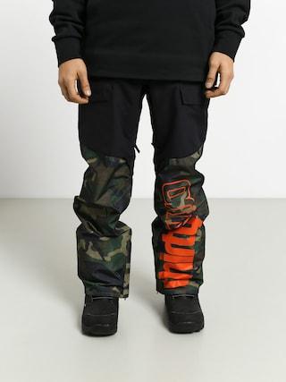 Snowboardovu00e9 kalhoty  ThirtyTwo Alpha (black/camo)