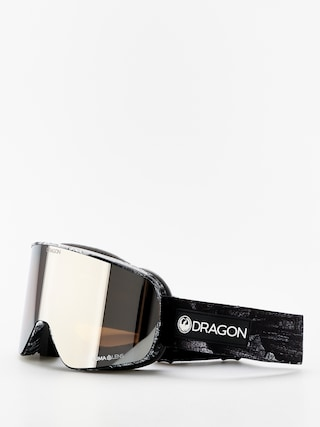 Bru00fdle na snowboard Dragon NFX2 (torn birch/lumalens silver ion/lumalens flash blue)