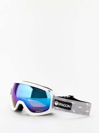 Bru00fdle na snowboard Dragon D3OTG (sharky/lumalens blue ion/lumalens amber)