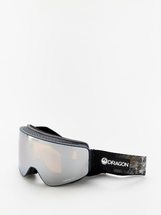 Bru00fdle na snowboard Dragon PXV (galaxy rock/lumalens silver ion/lumalens flash blue)