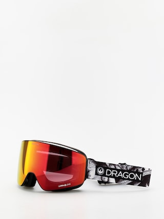 Bru00fdle na snowboard Dragon PXV (faction/lumalens red ion/lumalens rose)