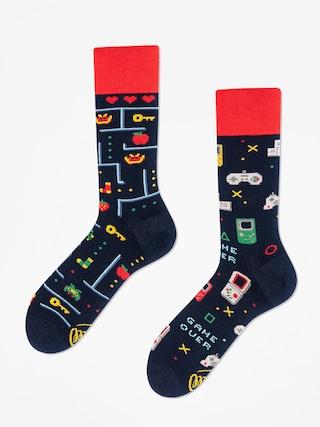 Ponožky Many Mornings Game Over (navy)