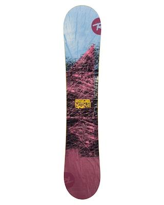 Snowboard Rossignol Myth Wmn (maroon/blue/yellow)