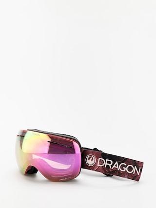 Bru00fdle na snowboard Dragon X1s (rose/lumalens pink ion/lumalens dark smoke)