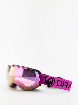 Brýle na snowboard Dragon X2s (raspberry/lumalens pink ion/lumalens dark smoke)