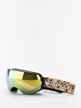 Brýle na snowboard Dragon X2s (lynxxx/lumalens gold ion/lumalens amber)