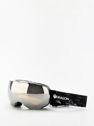 Bru00fdle na snowboard Dragon X2s (torn birch/lumalens silver ion/lumalens flash blue)
