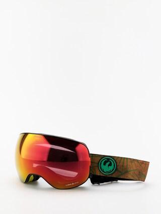 Bru00fdle na snowboard Dragon X2 (irie/lumalens red ion/lumalens rose)