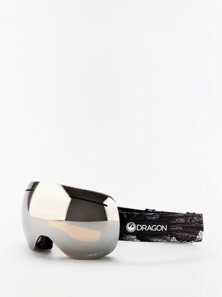 Brýle na snowboard Dragon X1 (torn birch/lumalens silver ion/lumalens flash blue)