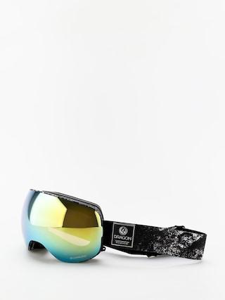 Brýle na snowboard Dragon X2 (lunar/lumalens gold ion/lumalens amber)