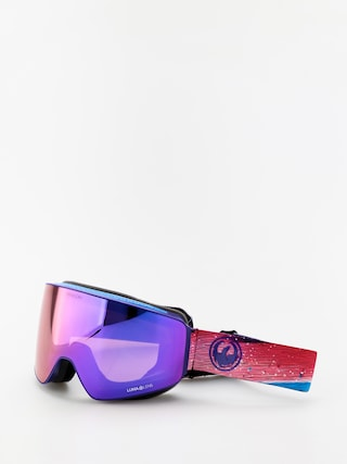 Bru00fdle na snowboard Dragon PXV (abstract/lumalens purple ion/lumalens amber)