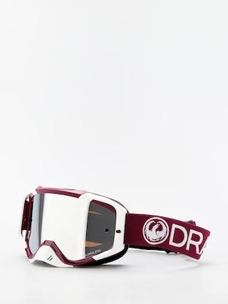 Cross brýle Dragon MXV (max mx burgundy/llsil ion clear)