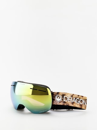 Bru00fdle na snowboard Dragon X1s (lynxxx/lumalens gold ion/lumalens amber)