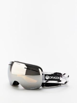 Bru00fdle na snowboard Dragon X1s (feather/lumalens silver ion/lumalens flash blue)
