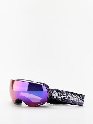 Brýle na snowboard Dragon X2s (lavender/lumalens purple ion/lumalens amber)