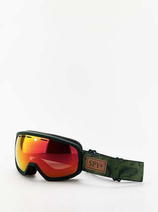 Bru00fdle na snowboard Spy Marshall (gone fishing hd plus bronze w/red spectra mirror yellow w/green)