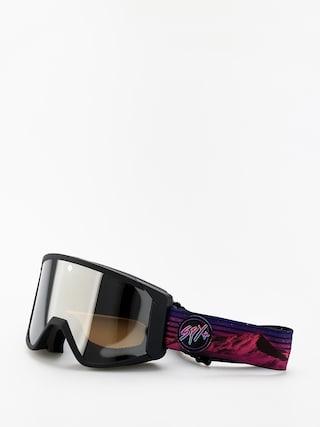 Bru00fdle na snowboard Spy Raider (chris rasman hd bronze w/silver spectra persimmon)
