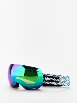 Brýle na snowboard Dragon X1 (tropics/lumalens green ion/lumalens amber)