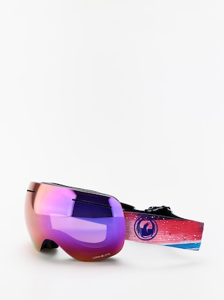 Bru00fdle na snowboard Dragon X1 (abstract/lumalens purple ion/lumalens amber)