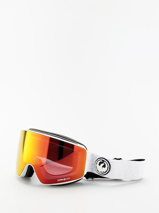Bru00fdle na snowboard Dragon PXV (pk white/lumalens red ion/lumalens pink ion)