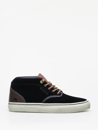 Boty Emerica Wino G6 Mid (black/brown/grey)