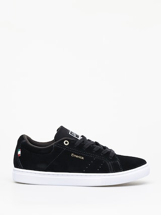 Boty Emerica Americana (black/white/gold)