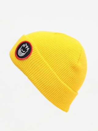u010cepice Spitfire Beanie Bh Circle Patch (yellow)