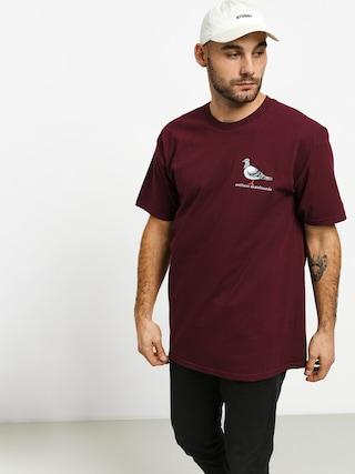 Tričko Antihero Lil Pigeon (burgundy)
