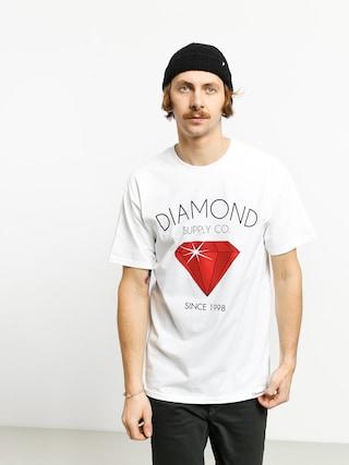 Tričko Diamond Supply Co. Classic Diamond (white)