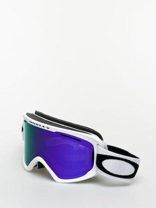 Bru00fdle na snowboard Oakley O Frame 2 0 Pro Xmu00a0 (matte white/violet iridium & persimmon)