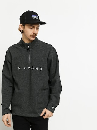 Mikina Diamond Supply Co. Leeway ZHD (black)