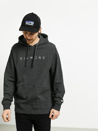 Mikina s kapucu00ed Diamond Supply Co. Leeway HD (black)
