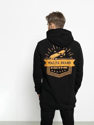 Mikina s kapucí Malita Go Skate HD (black)