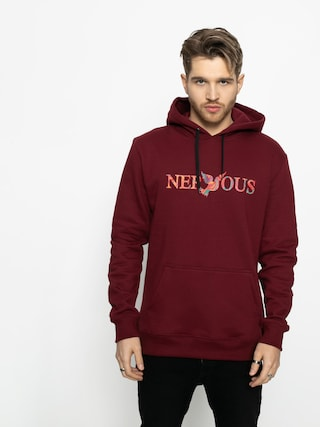 Mikina s kapucí Nervous Classic Acd HD (maroon)