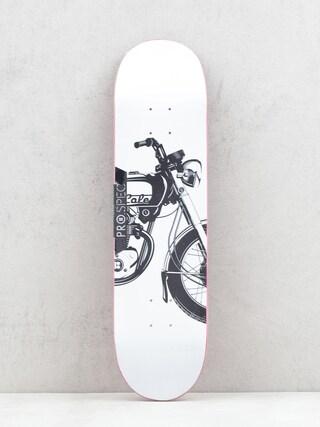 Deska Plan B Cole Motorin (white/black)