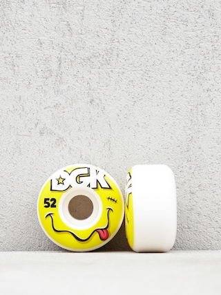 Kolečka DGK Smiley (white/yellow)