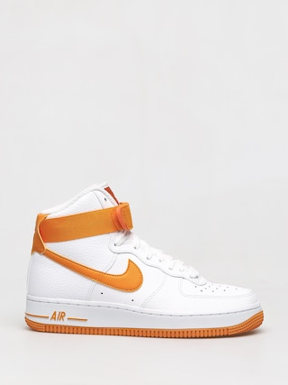 Boty Nike Air Force 1 High Wmn (white/orange peel campfire orange)