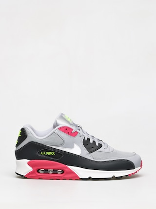 Boty Nike Air Max 90 Essential (wolf grey/white rush pink volt)