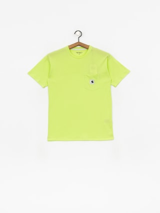 Triu010dko Carhartt WIP Carrie Pocket Wmn (lime/ash heather)