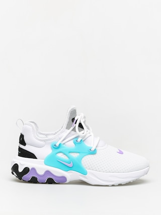 Boty Nike React Presto (white/night maroon black atomic violet)