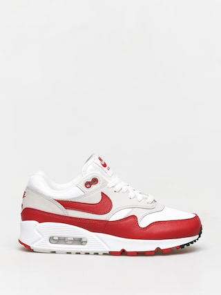 Boty Nike Air Max 90/1 Wmn (white/university red neutral grey black)