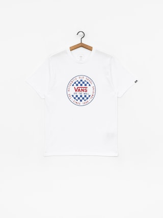 Tričko Vans Og Checker (white)