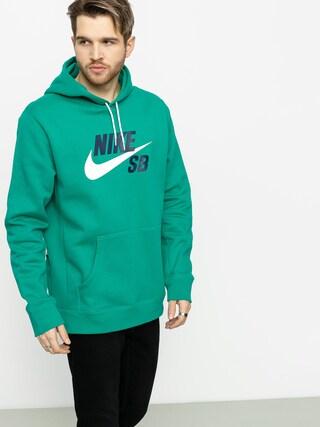 Mikina s kapucu00ed Nike SB Sb Icon HD (neptune green/white)